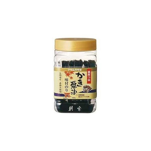 アサムラサキ かき醤油味付けのり 全型9枚8切72枚petボトル入り×6...  この商品の価格