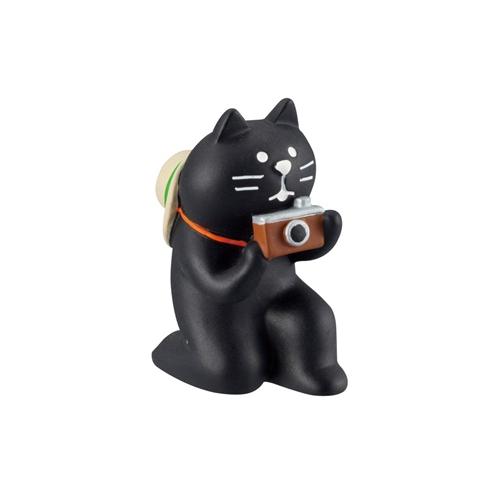まったりマスコット 黒猫カメラマン