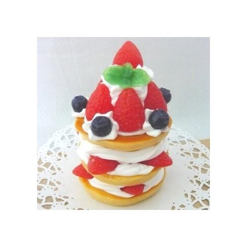 リアルスイーツBIG フレッシュフルーツ ストロベリーパンケーキ