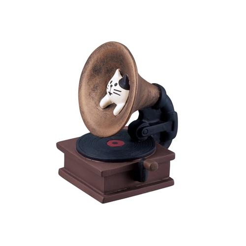 まったりマスコット 猫式蓄音機