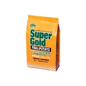 スーパーゴールド フィッシュ&ポテト シニアライト 高齢犬用 ドライフード 8kg