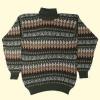 ベビーアルパカのハイネックセーター