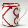 【数量限定】そうだ!!目を奪われるような情熱の赤が印象的な! エルメス(HERMES) マグカップ ガダルキヴィール レッドNo.2 1客(オリジナルオレンジギフトBOX入り)