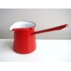 ホーロー 片手鍋 赤