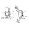 ★腕時計型・特定小電力トランシーバー・イヤホンマイク装備・2台/セット