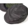帽子/タフタシャドーチェックハンチング(黒)
