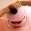 Pitit Four macaron cake - franboise(フランボワーズ)〜Sango-Papa