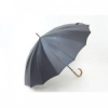 スーパーブラック60 メンズ手開晴雨兼用傘