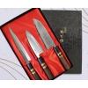 風紋出刃包丁 150mm、風紋刺身包丁 200mm、風紋三徳包丁 170mmの3本セット