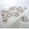 ミニチュア陶器 フルディナー&ティーセット