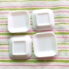 デコ用素材 ミニチュア食器 スクウェアミニプレート