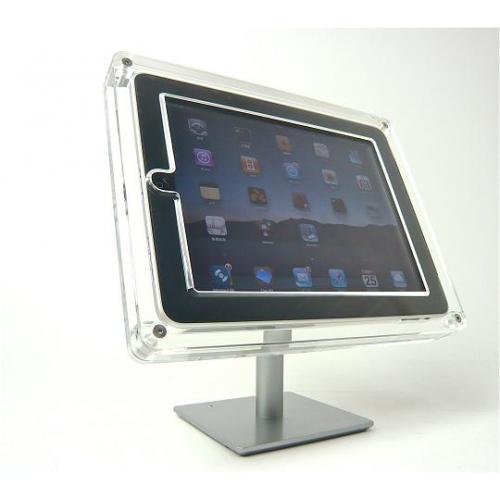 展示用『iPad・タブレットスタンド』 -TABLETY- デスクトップタイプ (美しい展示と盗難防止・防犯・セキュリティ対策)