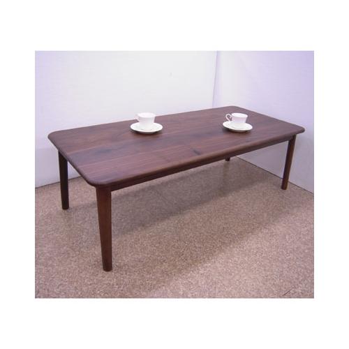 【送料無料】Bウォールナット無垢120テーブル
