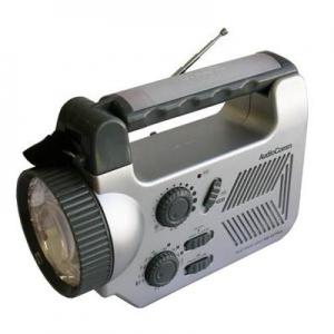手回し発電マルチライトラジオ
