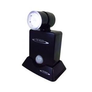 乾電池式0.5WチビLEDセンサーライト ブラック