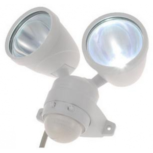 LEDセンサーライト 2灯式