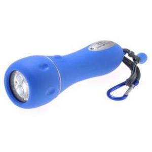 水に浮く LED防水ラバーライト 青