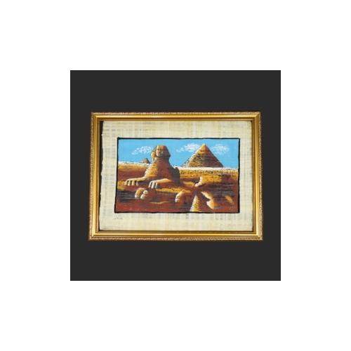 エジプトのパピルス画