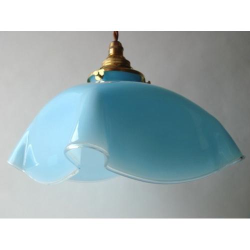 ランプシェード 水色