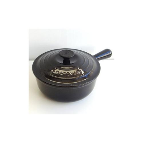 ルクルーゼ ソースパン 黒 20cm
