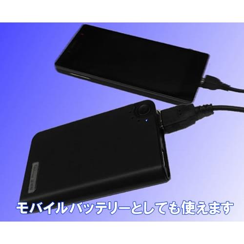 モバイルバッテリー型ビデオカメラ  大容量バッテリー内蔵 動体検知機能付き  超小型カメラ カモフラージュカメラ スパイカメラ TEM-890 画像