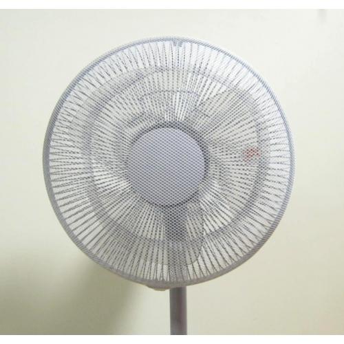 扇風機安全カバー30〜35センチ羽根用・ホワイト/ブルー2色/セット MSN-3035BL-W 画像