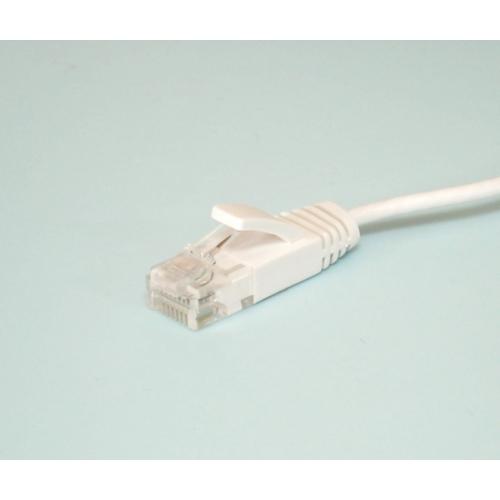 カテゴリ6ストレート2.8�極細スーパースリムLANケーブル10m MPC-100SSL 画像