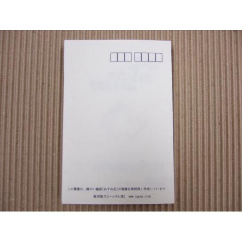 【送料無料】紙すき はがき 5枚セット オフホワイト