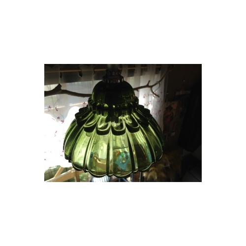 アメリ ランプ フラワー グリーン