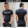 【CROSS RIDER】ラインストーンロゴTシャツ