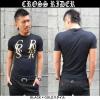 ≪CROSS RIDER≫OVER LAPロゴTシャツ