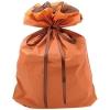 ササガワ タカ印 50-3663 巾着袋 オレンジ 特大 50P