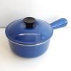 ルクルーゼ ソースパン 14cm 青