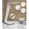 LEDディスクライト★調光機能付き&折りたたみ式で薄型ボディ・MCTD-UW