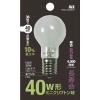 長寿命!40W形ミニクリプトン球・(口金/E17ホワイト)