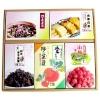 愛媛県産・旬の野菜を主原料にした漬物・お茶漬・梅干等『特選詰め合わせ5点セット』