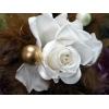 最高の美しさ*プリザーブドローズの1輪花束【送料無料】白系