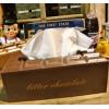 チョコレート ティッシュボックスケース