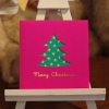ツリーのミニクリスマスカード