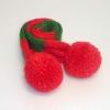 犬用手編みマフラー(クリスマス)-Mサイズ 【Scubed】