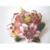 桜の花 ブローチ(4)