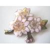 桜の花 ブローチ(8)