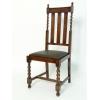 本革×無垢材使用! 英国伝統スタイル ダイニングチェア /  椅子
