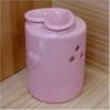 ハートアロマオイルポット ピンク